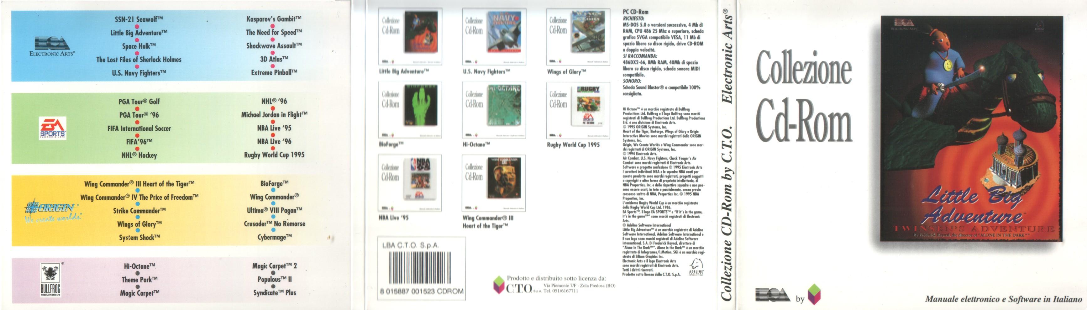 Italian Release cover