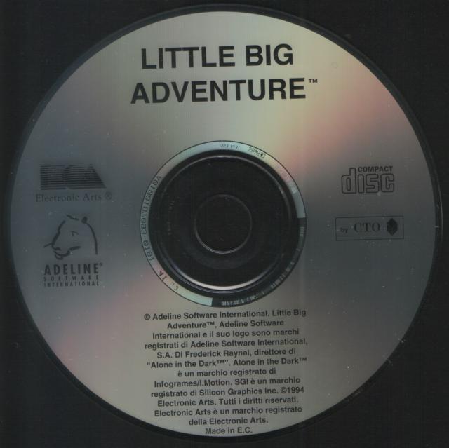 Italian Release CD