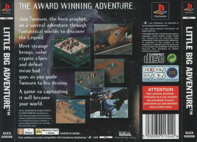 European PlayStation Release Back