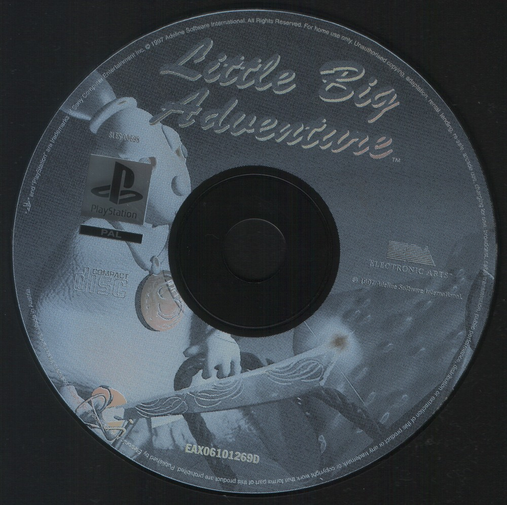 European PlayStation Release Disc