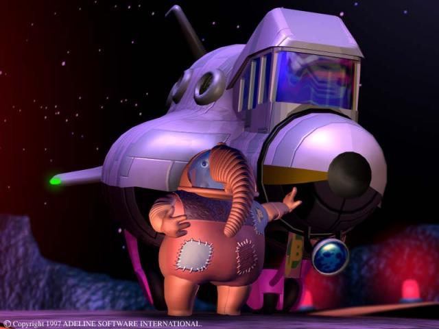 Baldino and his spaceship
