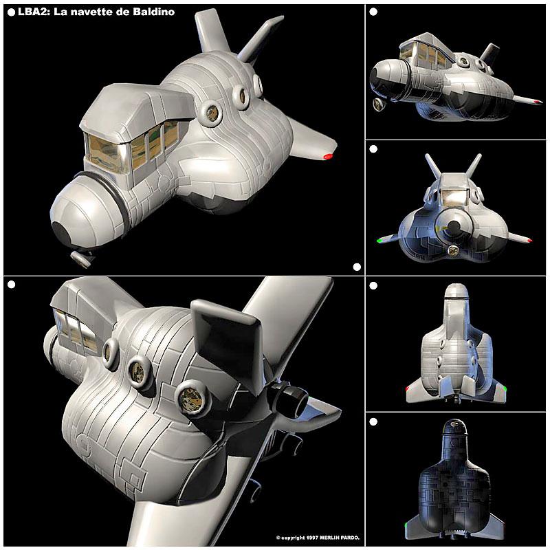 Baldino's spaceship