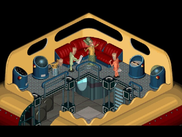 Inside the UFO