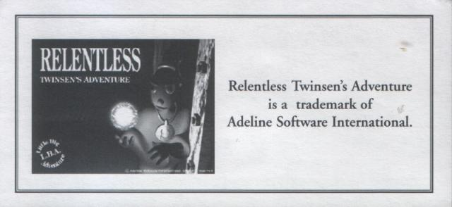 Relentless Trademark Card