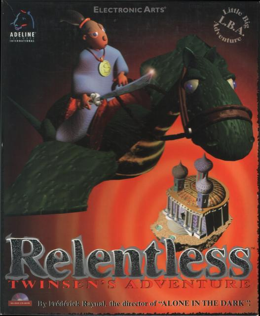 Relentless Box Front