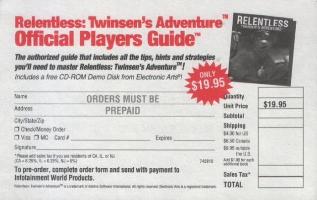 Relentless Guide Flyer