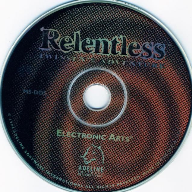 Relentless CDRom