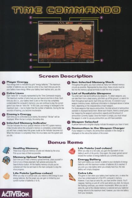 Screen Reference Sheet