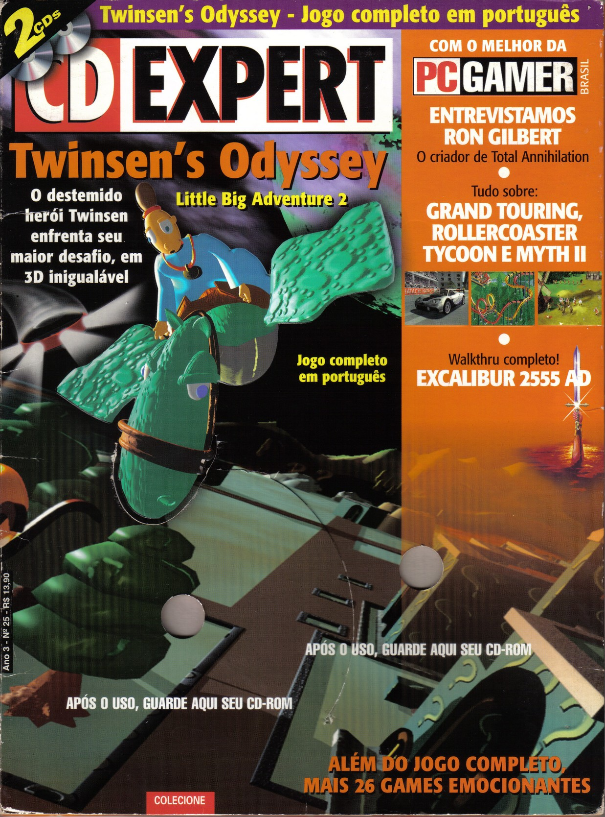 CD Gamer issue 25 - front