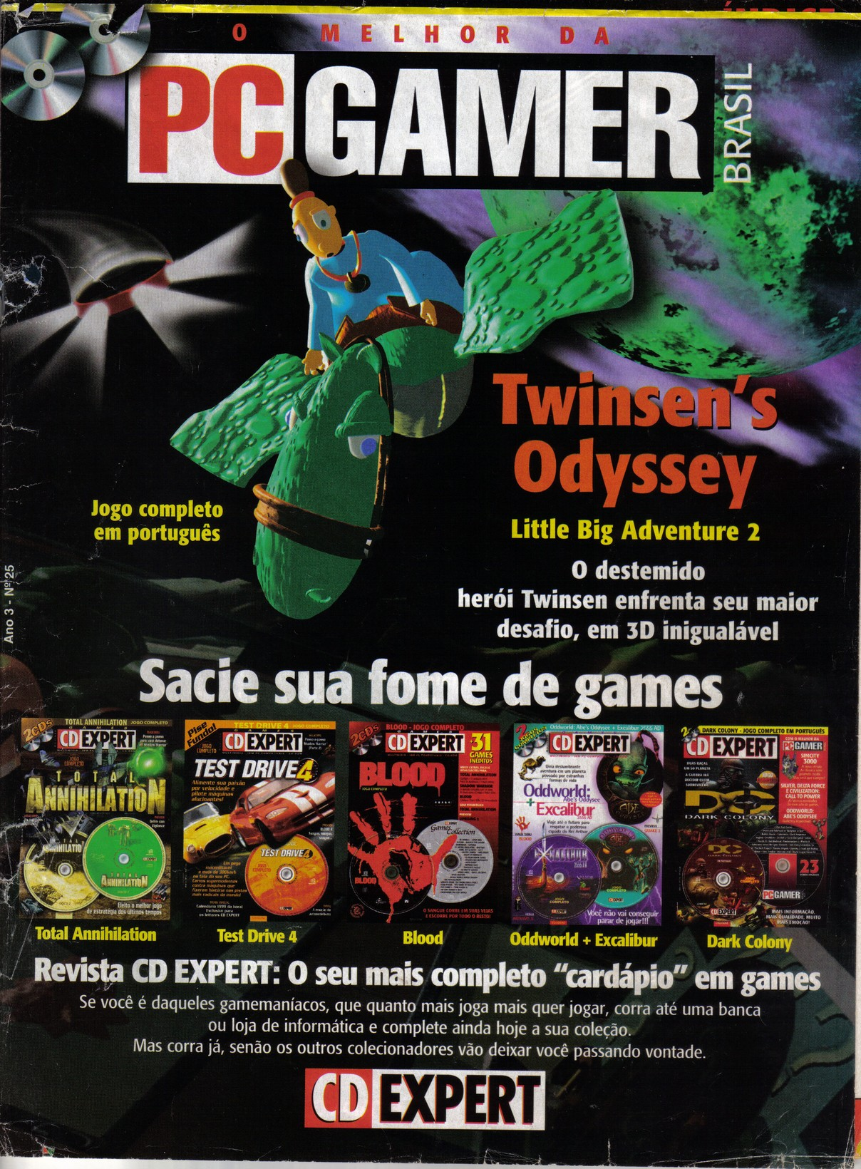 CD Gamer issue 25 - magazine front
