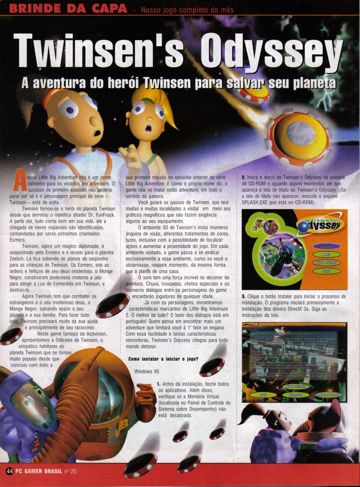 CD Gamer issue 25 - page 1