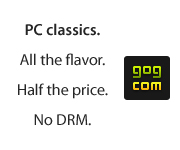 GOG.com - Good Old Games - DRM Free Classics